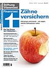 Zahnversicherung Test Stiftung Warentest